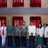 Wakil Walikota Manado Membuka Acara Bakti Sosial Tiga Kota Senyum Kawanua