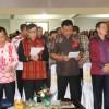 Menkum-HAM RI Hadiri Perayaan HUT ke-286 Jemaat GMIM Betani Sindulang Singkil