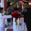 Kapolresta Manado Jadi Irup Penurunan Bendera Merah Putih