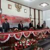 JWS Ivansa Saksikan Pidato Presiden Jokowi di Gedung DPRD Minahasa