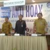 Lakat Membuka Workshop & Deklarasi Manado Cerdas Anti Hoax