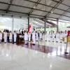 Bupati Minsel CEP Kukuhkan 30 Anggota Paskibraka Minsel Tahun 2017