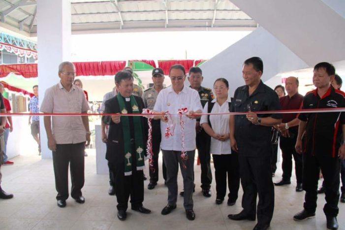 Peresmian Bangunan Pasar Rakyat Tondano Oleh Bupati Minahasa ROR