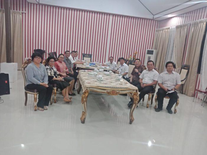 Bupati Minahasa Pimpin Rapat Panitia Konferensi Gereja dan Masyarakat PGI Minahasa