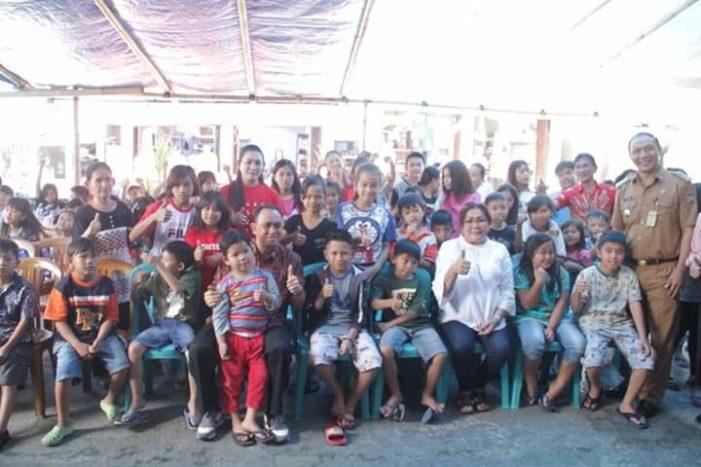 Syukuri HUT ke-55 Istri Bupati Minahasa Berbagi Kasih di 3 Panti Asuhan
