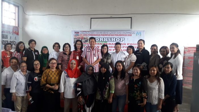Wakili Bupati, Drs J.O Legi buat Workshop untuk Peningkatan Perempuan di Bidang Politik