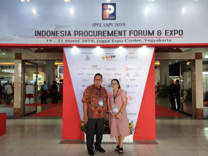 "Wabup RD Hadiri Pembukaan Acara ""Indonesia Procurement Forum & Expo"""
