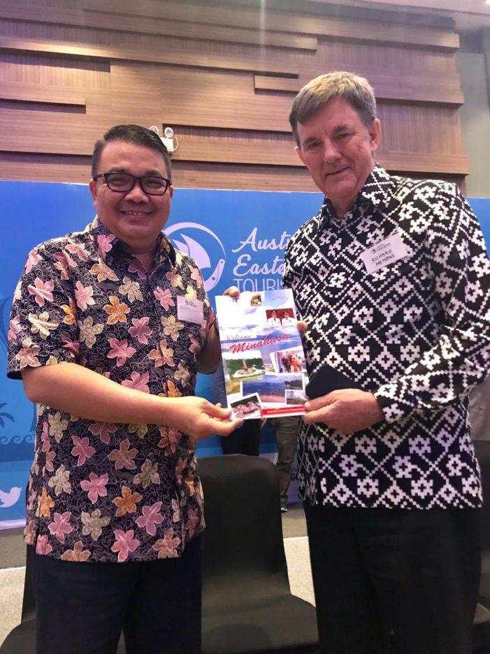 """Wakili Bupati Minahasa, Tumundo Hadiri """"Australia Eastern Indonesia Tourism Forum 2019"""""""