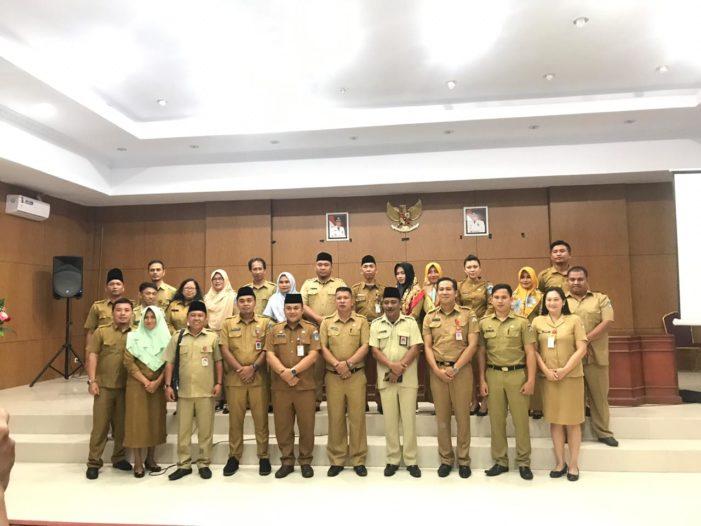 Sekretariat Daerah Kabupaten Bolsel adakan Studi Banding ke Kabupaten Minahasa