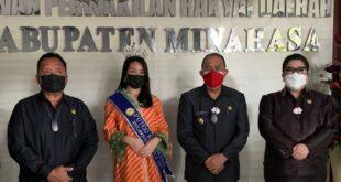 Galatia Karamoy Banjir Dukungan Di Ajang Grand Final Putri Kebudayaan Indonesia